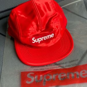 supreme red cap